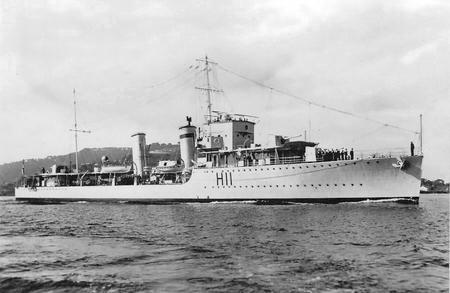 HMS Basilisk