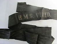 HMS Vivid cap tally