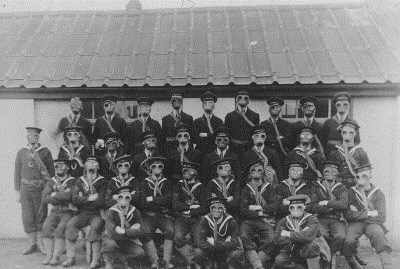 Sailors of HMS Vivid