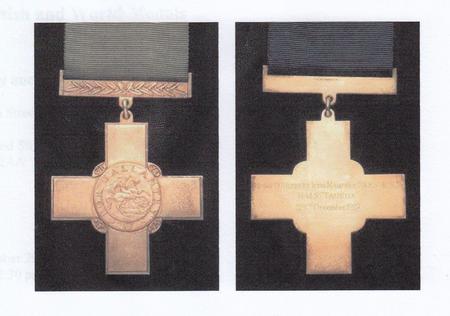 Petty Officer Mahoney's George Cross