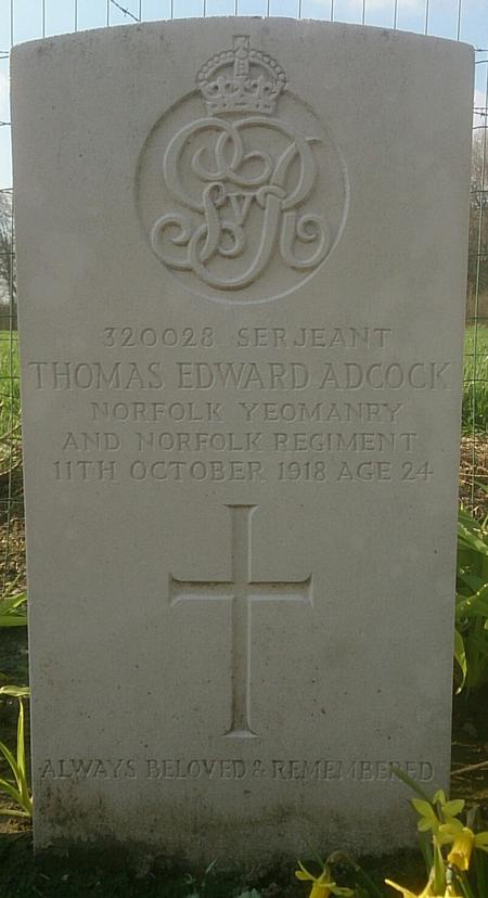 Profile picture for Thomas Edward Adcock