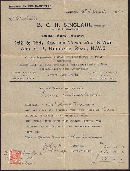 B C H Sinclair - Funeral Directors