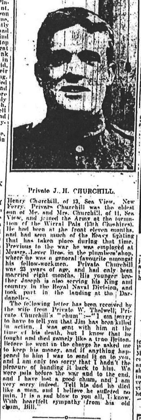 W_14 Private James Henry Churchill