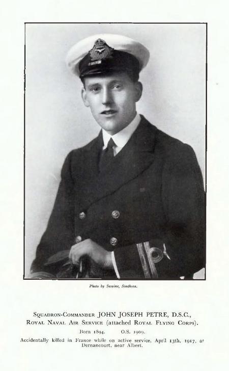 Profile picture for John Joseph Petre