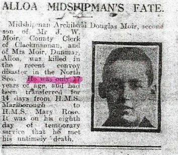 Profile picture for Archibald Douglas Moir