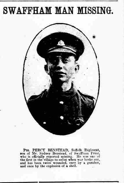 Profile picture for Percy Benstead