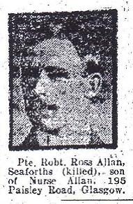 Profile picture for Robert R Allan