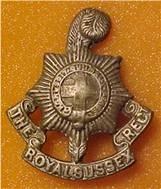 Royal Sussex Regiment cap badge