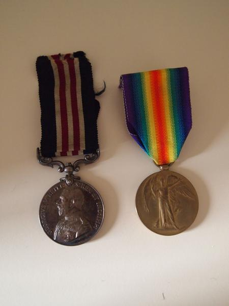 Military Medal and Victory Medal