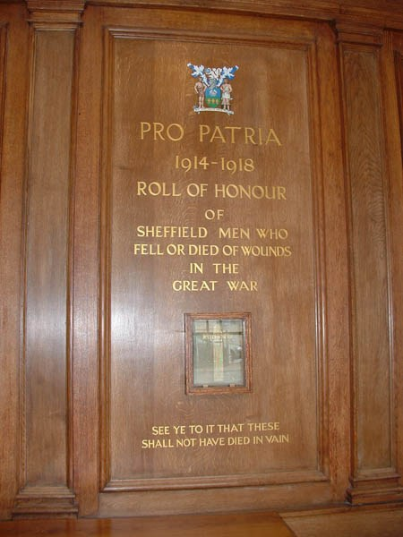 Official Roll of Honour 1914-18