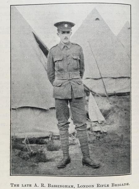 Profile picture for Arthur Robert Bassingham