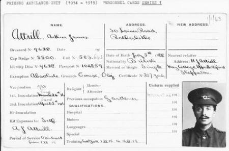 FAU Record - Arthur James Attrill