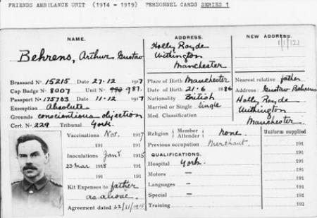 Arthur Gustav Behrens