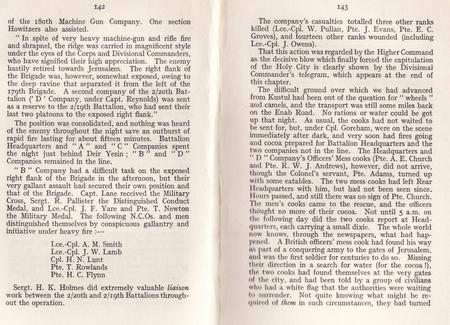Page from 2/20th History [W R Elliot 1920]