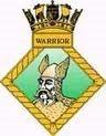 Ships Crest - HMS Warrior