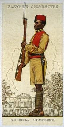 uniform of nigeria regiment