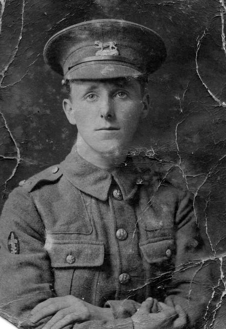 James Alfred George - Leicestershire Regiment