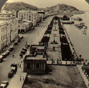 Guayaquil waterfront about 1920