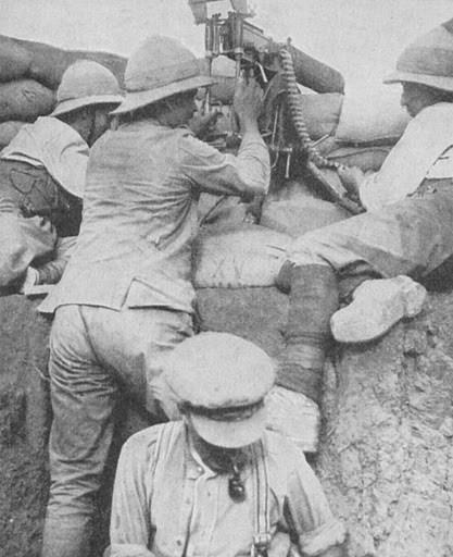 Machine Gunners at Gallipoli