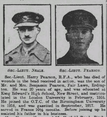Birmingham Daily Mail 11 October 1918