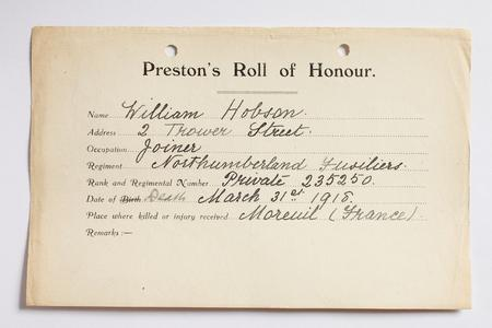 Profile picture for William Hobson