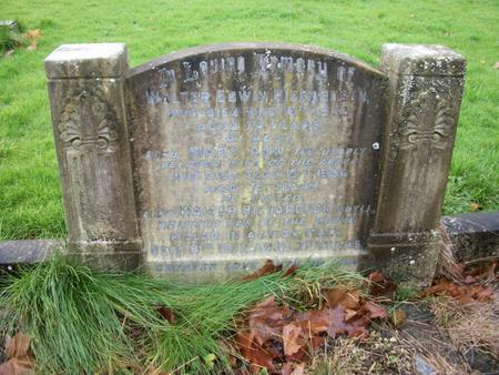 Headstone commemoration
