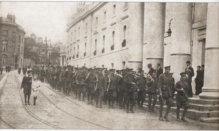 The Royal Irish Regiment in Plymouth