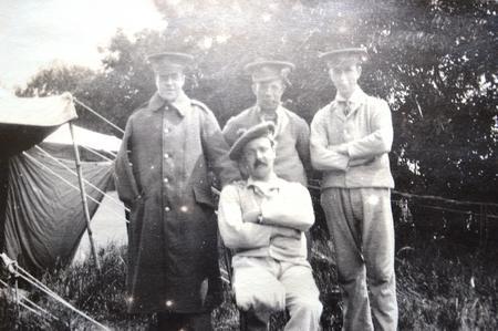 John Robinson at Manor House Hospital Folkestone