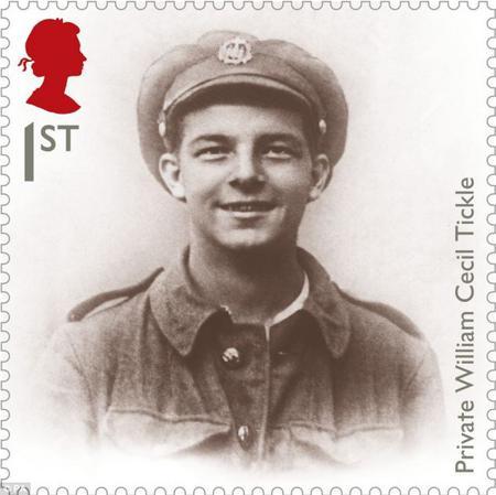 William Tickle commemorative stamp
