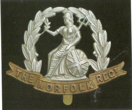 Norfolk Regimental Cap Badge WW1 period