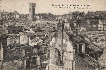 Bethune after WW1