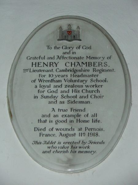 Profile picture for Henry Chambers