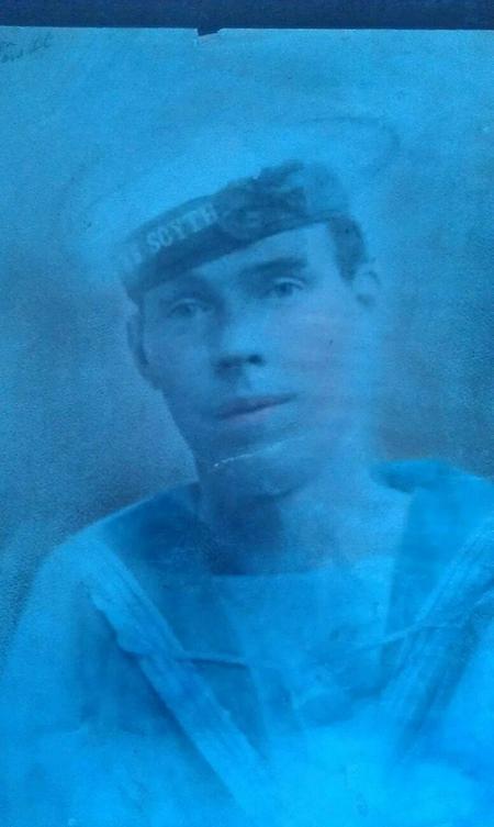 William James (Jimmy) Harrison in c1917