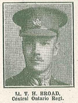 Lt T H Broad