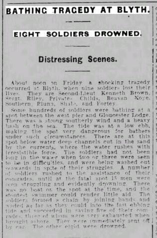 Morpeth Herald 31 August 1917