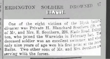 Birmingham Daily Post 27 August 1917