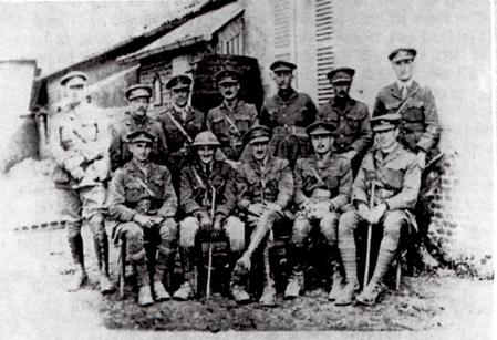 Officers of the 4th Battalion Worcestershire Regt,