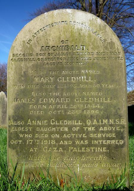 Profile picture for Annie Gledhill