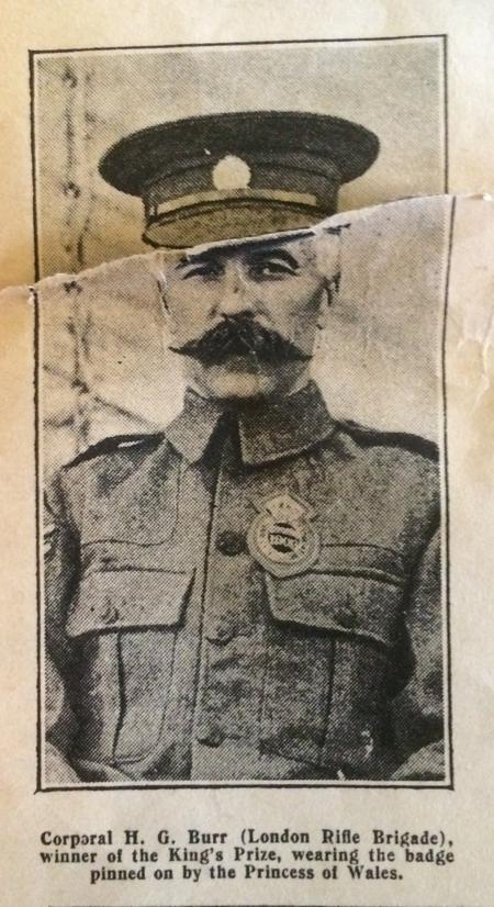 Profile picture for H G Burr