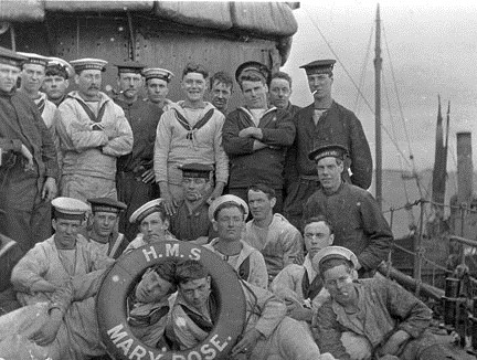 Some of the crew of the Mary Rose