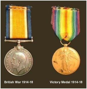 British War Medal & Victory Medal