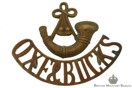 Oxfordshire & Buckinghamshire LI cap badge