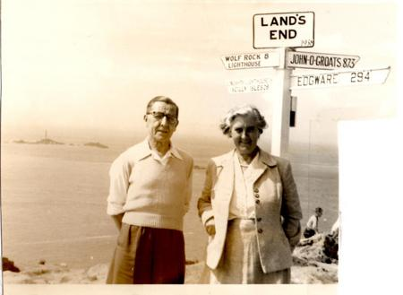 Batt and his wife Nell