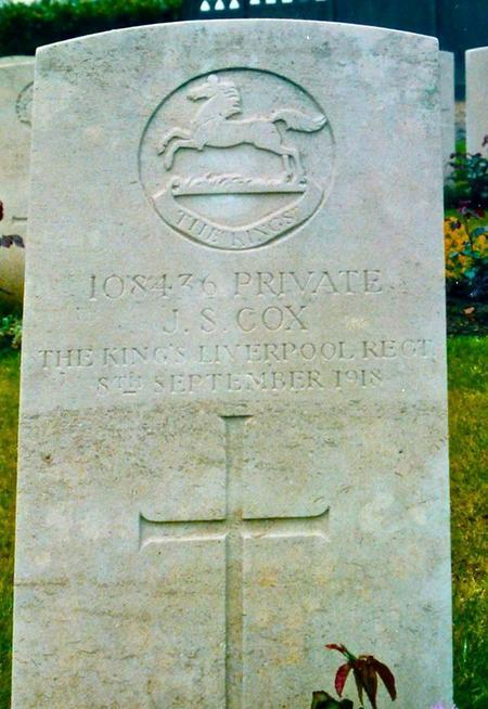 Profile picture for John Samuel Cox