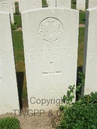 Edward's war grave