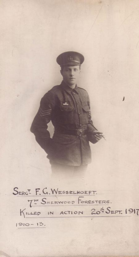 Profile picture for Frederick Grange Wesselhoeft
