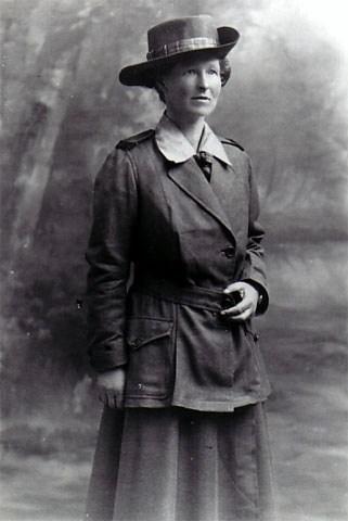 Portrait in uniform
