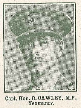 Profile picture for Hon Oswald Cawley