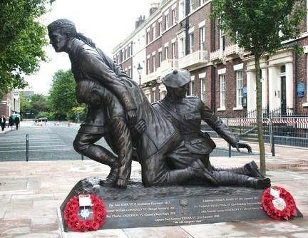 Chavasse Memorial Sculpture