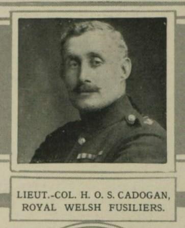 Lt Col Henry Osbert Samuel Cadogan